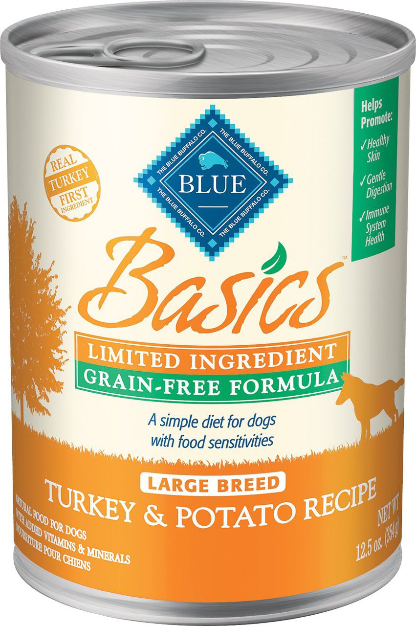 Blue Basic Turkey And Potato Dog Food