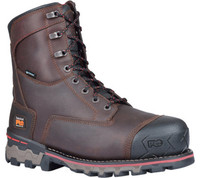 Timberland Pro Men's Boondock 8in 600G Composite Toe Work Boots - Brown