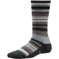 Smartwool Women's Jovian Stripe Socks - Charcoal Heather