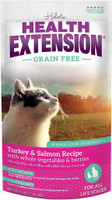Health Extension Turkey, Salmon & Chickpea Formula Dry Cat Food