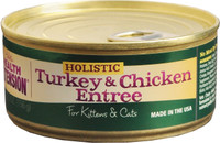 Health Extension Turkey & Chicken Entree Canned Cat & Kitten Food 5.5oz