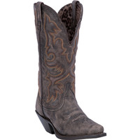 Laredo Women's Access Snip Toe Cowboy Boots -  Brown