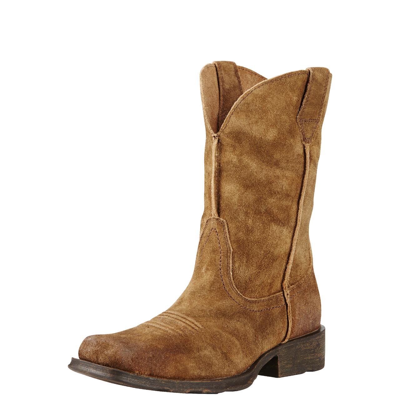 c9b5ac23415 Ariat Men's Urban Rambler Cowboy Boot - Antique Mocha Suede