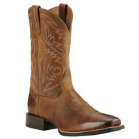 Ariat Men's Sport Herdsman Square Toe - Tan