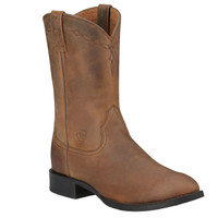 Ariat Men's Heritage Roper Distressed - Brown