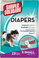 Simple Solution Disposable Dog Diapers