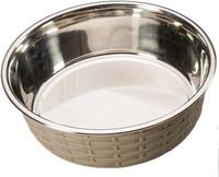 Soho Basketweave Dish - Gray