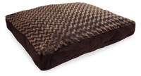 Furhaven Ultra Plush Pillow - Chocolate