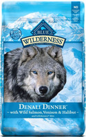 Blue Wilderness Grain Free Denali Dinner with Salmon Venison and Halibut Dry Dog Food