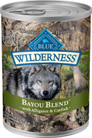 Blue Wilderness Bayou Blend with Alligator & Catfish Grain-Free Canned Dog Food, 12.5-oz