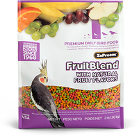 Fruitblend With Natural Fruit Flavors Md Parrot 2lb