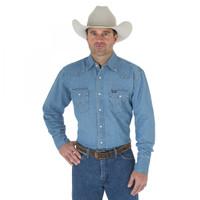 Wrangler Men's Authentic Cowboy Cut Work Shirt