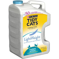 Tidy Cats LightWeight Cat Clumping Litter Instant Action for Multiple Cats 8.5 lb. Jug