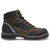"Wolverine Men's Overman Contour 6"" Waterproof - Brown/Black"