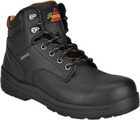 "Thorogood Men's 6"" Composite Toe WP Work Boot  - Black"