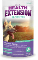 Health Extension Grain Free Vension Recipe Dry Dog Food