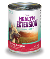 Health Extension Grain Free Savory Beef Stew Canned Dog Food 13.2oz