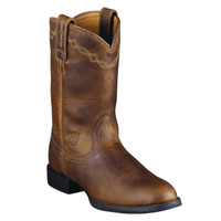 Ariat Women's Heritage Roper Cowboy Boots - Distressed Brown