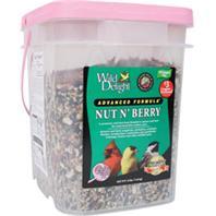 Wild Delight Nut N Berry Wild Bird Food Plai 13.5 lbs
