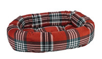 Bowsers  Donut Bed Royal Troon Tartan Microvelvet