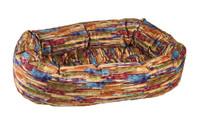 Bowsers  Donut Bed Aura Microvelvet Multi
