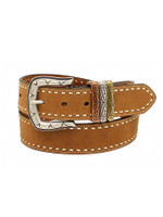Ariat Women's Ariat Tan Full Grain Leather Belt Brown