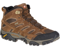 Merrell Men's Moab 2 Mid Waterproof  - Brown