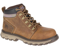 Cat Women's Ellie Steel Toe Work Boot - Brown