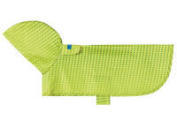 Packable Poncho Lime Halftone