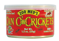 Zoo Meds Can O' Mini Size Crickets1.2oz