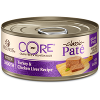 Wellness Core Pâté Kitten Chicken & Turkey Canned Cat Food 5.5oz