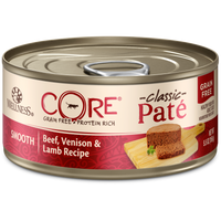 Wellness Core Pâté Beef Venison & Lamb 5.5oz Canned Cat Food