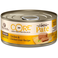 Wellness Core Pâté Indoor Chicken & Chicken Liver Canned Cat Food  5.5oz
