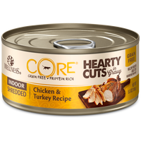 Wellness Core Hearty Cuts Indoor Chicken & Turkey 5.5oz Canned Cat Food