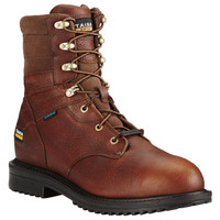 "Ariat Men's Rigtek 8"" H2O Composite Toe Work Boot - Brown"