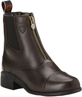 Ariat Kid's Devon III Zip  English Boots - Chocolate