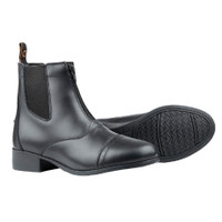 Dublin Kid's Foundation Zip Paddock Boots  - Black