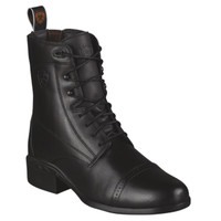 Ariat Women's Heritage 3  Lace up Paddock - Black