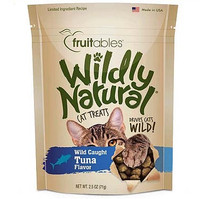 Fruitables Wildly Natural Wild Caught Tuna Flavor Cat Treats 2.5-oz