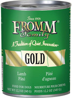 From Gold Lamb Pate Canned Dog Food
