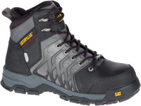 Cat Men's Induction Waterproof Nano Toe Work Boot - Black