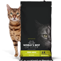 Worlds Best Cat Litter Zero Mess Pine Scent