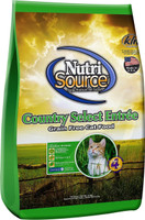 NutriSource Country Select Entrée Grain Free  Dry Cat Food