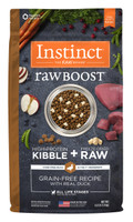 Instinct Raw Boost Grain-Free Recipe with Real Duck Formula Dry Dog Food