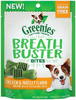 Greenies Breathbuster Bites Chicken & Parsley Flavor Treats for Dogs