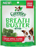Greenies Breathbuster Bites Bites Crisp Apple Flavor Treats for Dogs