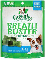 Greenies Breathbuster Bites Fresh Flavor Treats for Dogs