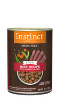 Instinct Stews Beef Recipe with Carrots & Peas Canned Dog Food