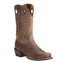 Ariat Men's Heritage Hotshot Square Toe Cowboy Boots - Brown