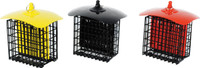 Double Suet Feeder With Weather Shield